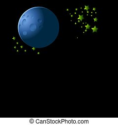 space and stars background
