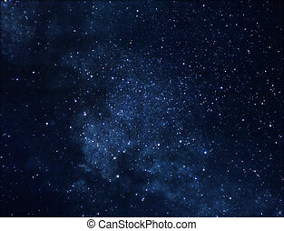 Space background - Astrophoto of deep space rich in stars