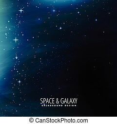 space background template