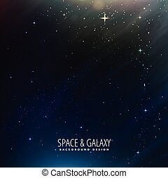 space background with stars