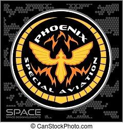 Space batlmilitary chevron - Fantastic military chevron -...