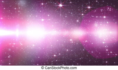 Space cosmos color, Ray star particle