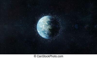 Space Debris in Earth Orbit