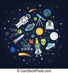 Space Exploration Round Design