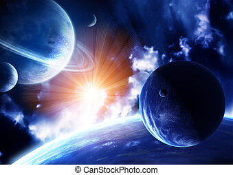 Space flare
