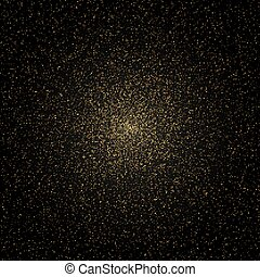 Space galaxy background with glitter stars
