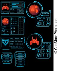 Space game asset