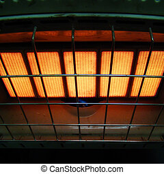 space heater - an old fashioned space heater...