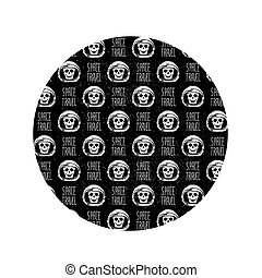 space helmet pattern
