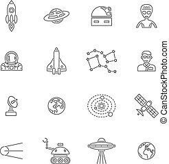 Space Icon Outline
