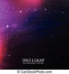 space lights background