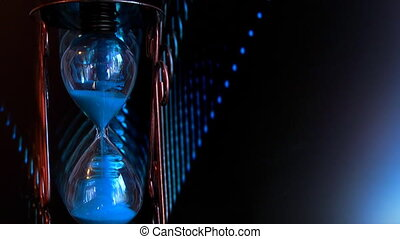 Space Mission hourglass