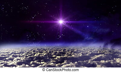 space night star cross