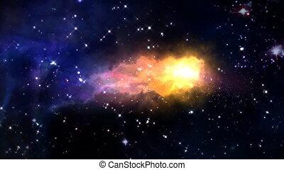 space orbit meteor air bursts