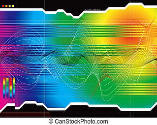 space outlook rainbow