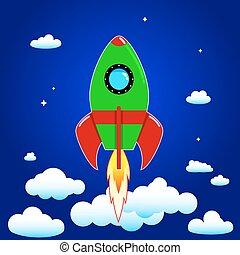 Space  rocket.eps