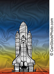 space shuttle fabric texture