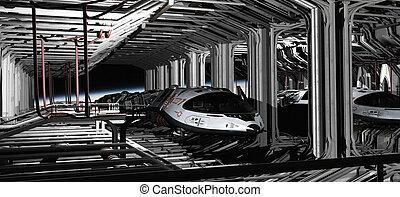 Space Shuttle Hanger