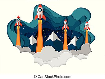 space shuttle The all four are competing for success