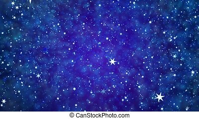 Space star background