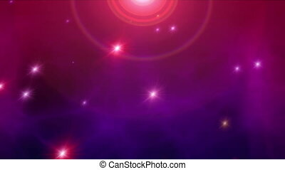space stars nebula abstract background