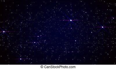 space stars sky