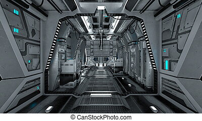 Space station - Image of space station.