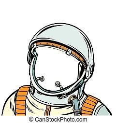 space suit. astronaut