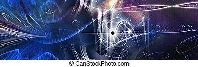 Space Time Illustration
