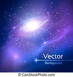 Space. Vector illustration.