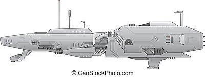 spacecraft - Creative design of spacecraft