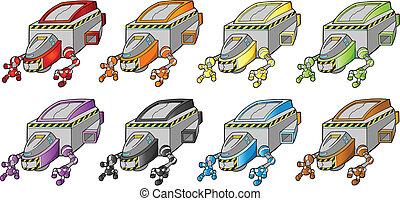 Spacecraft Spaceship design set - Spacecraft Spaceship...