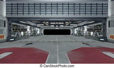 spaceship gate  - image of spaceship