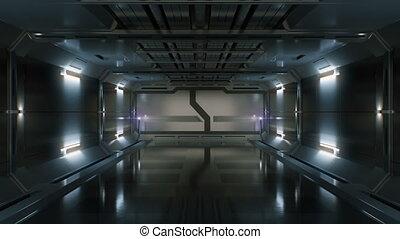 spaceship., toekomstfantasie