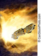Spaceship warp