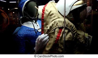 Spacesuit in The Memorial Museum of Cosmonautics.