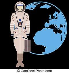 spacesuit, salvamento, kv-2, sokol