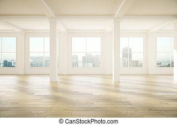spacieux, conception intérieur