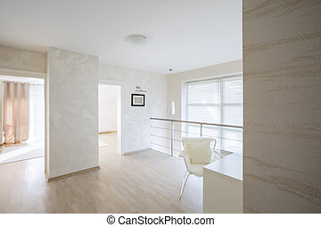 Spacious and bright hallway - Modern, spacious and bright...