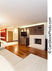 Spacious apartment - modern interior
