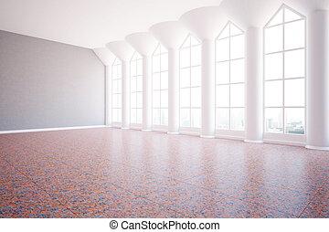 Spacious interior side - Spacious luxurious interior with...