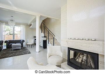 Spaciuos living room, horizontal