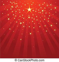 spadająca gwiazda, boże narodzenie