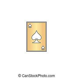 Spades card computer symbol