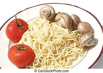 spagetti, comida
