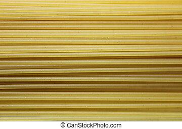 spagetti, tallarines, textura