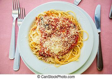 spaghetti alla napolitana