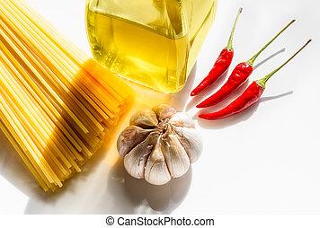 """Spaghetti """"garlic, oil and chili"""""""