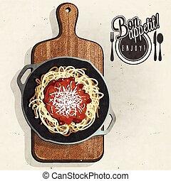 Spaghetti specialties