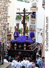 spain, andalucia, semana santa - 20.04.2011 - spain, ...